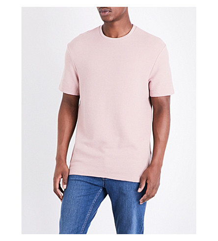 TOPMAN Ottoman cotton T-shirt (Pink
