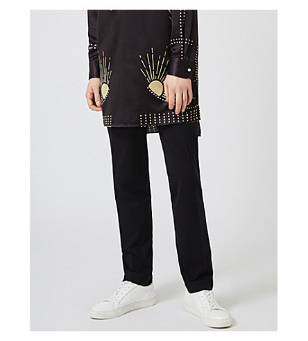 TOPMAN Woven trousers (Black