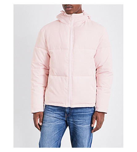 TOPMAN Topman LTD quilted shell jacket (Pink
