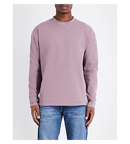 TOPMAN Topman LTD relaxed-fit jersey sweatshirt (Dark+blue