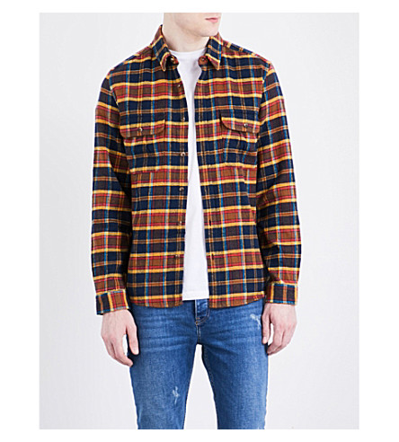 TOPMAN Check cotton shirt