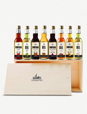 VOM FASS Miniature oils & vinegars gift set 8 x 40ml