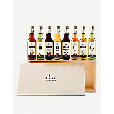 VOM FASS Miniature oils & vinegars gift set 8 x 40ml