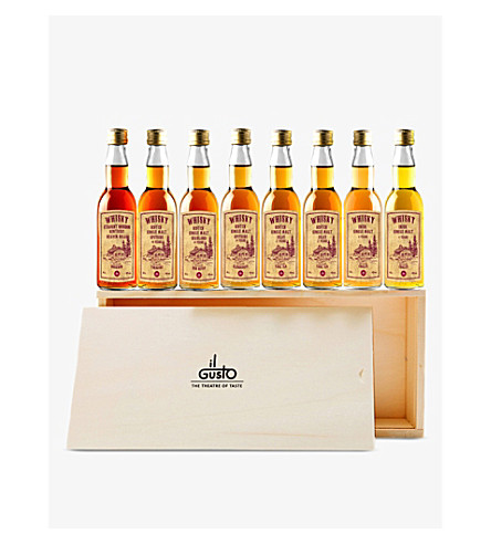 IL GUSTO Miniature Whisky gift set