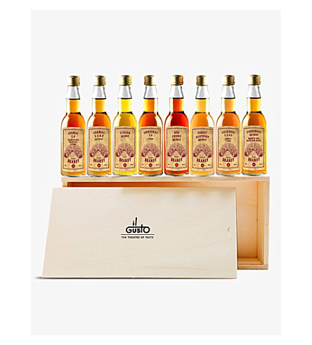 IL GUSTO Miniature Brandy gift set