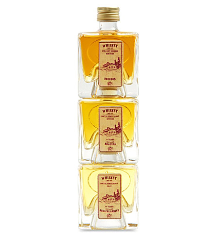 IL GUSTO Whiskey set 3 x 100ml