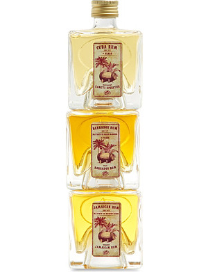 VOM FASS Rum gift set 3 x 100ml