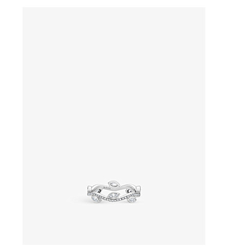 DE BEERS Adonis Rose platinum and diamond ring