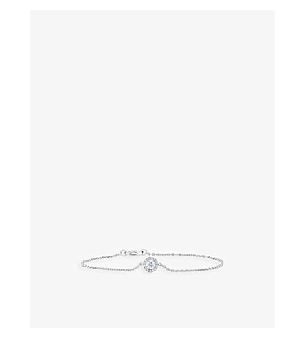 DE BEERS My First De Beers Aura white gold diamond bracelet