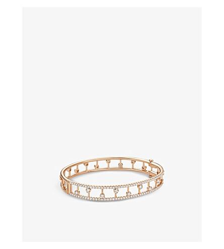DE BEERS 露珠 18ct Rose Gold 钻石带手链