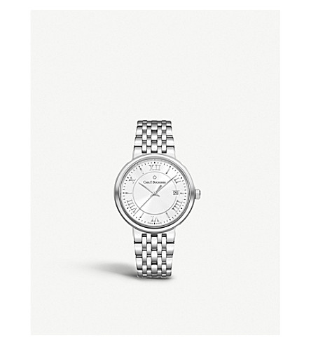 CARL F BUCHERER 00.10314.08.15.21 Adamavi Stainless steel, sapphire crystal watch