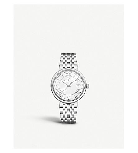 卡尔 F BUCHERER 00.10314.08.15.21 Adamavi 不锈钢, 蓝宝石水晶手表