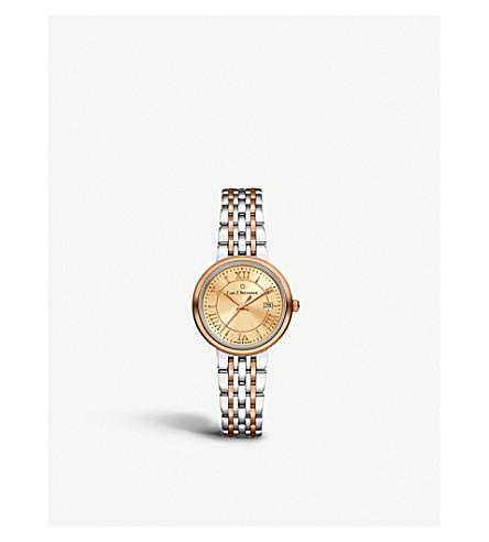 CARL F BUCHERER 00.10315.07.45.21 Adamavi 不锈钢制成, 18 K 玫瑰金和蓝宝石水晶手表