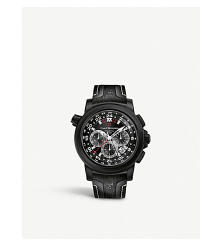 CARL F BUCHERER 00.10620.12.33.01 Automatic black dial black bracelet