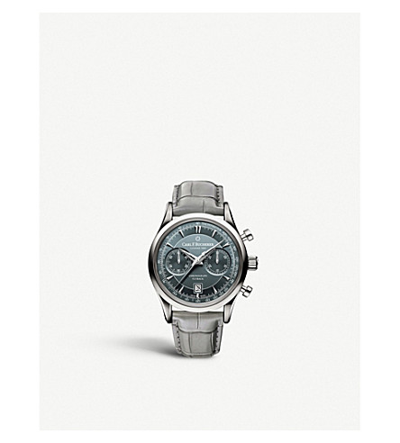 CARL F BUCHERER Manero Flyback stainless steel watch