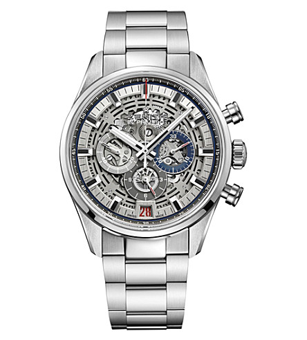 ZENITH 03.2081.400/78.M2040 Chronomaster El Primero Full Open stainless steel watch