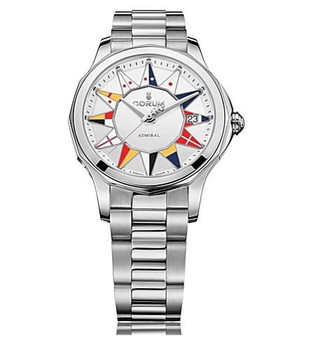 CORUM 082.200.20/V200 BL12 Admirals Cup stainless steel watch