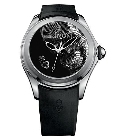 CORUM 082310200371SK01 Corum Bubble lunar system watch