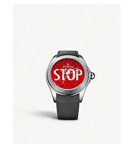 乔鲁姆 L403/03249 大气泡57停止钛和橡胶表带手表