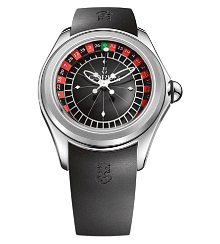 CORUM L082/02958 Corum Bubble automatic satinless steel watch