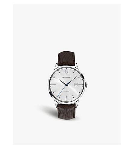 MONTBLANC111580大班传统不锈钢自动手表