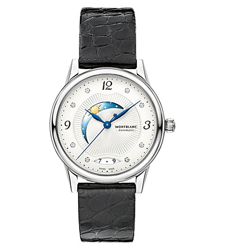 MONTBLANC 112512 Bohème day and night watch (Silver