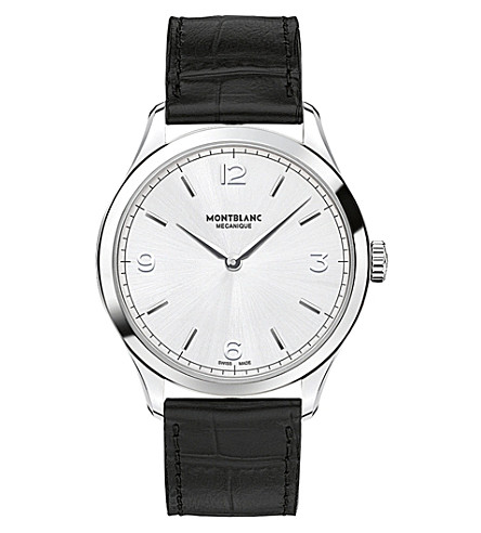 MONTBLANC Heritage Chronométrie 112515 ultra slim watch (Silver