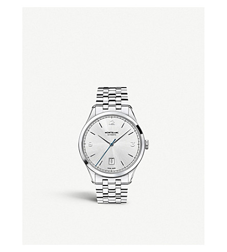 MONTBLANC Heritage Chronométrie 112532 automatic watch (Silver