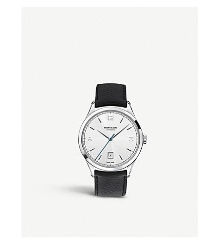 MONTBLANC Heritage Chronométrie 112533 automatic watch (Silver
