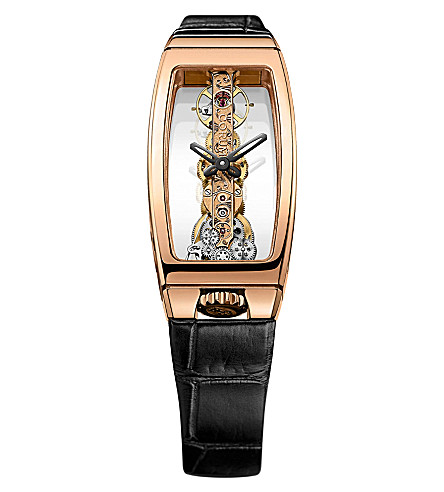 CORUM Miss Golden Bridge watch (Clear