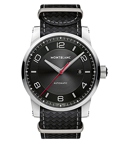 MONTBLANC TimeWalker Urban Speed 113850 Date Automatic watch (Black