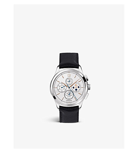 MONTBLANC Heritage Chronométrie Chronograph Annual Calendar stainless steel watch