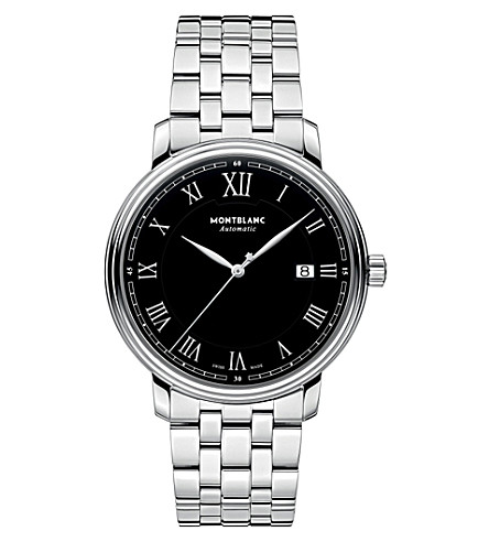 MONTBLANC 116483 Tradition stainless steel watch