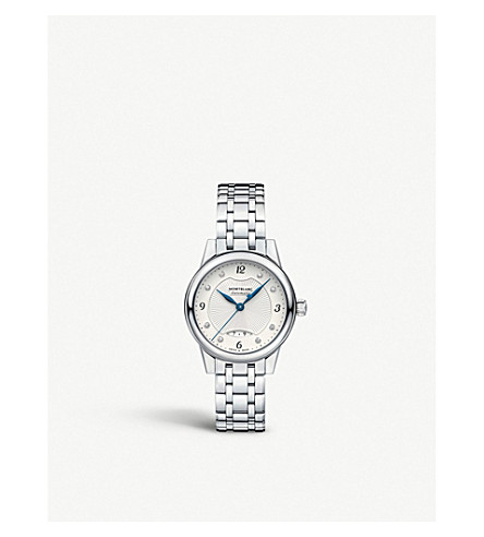 MONTBLANC 116498 Bohème diamond and stainless steel watch