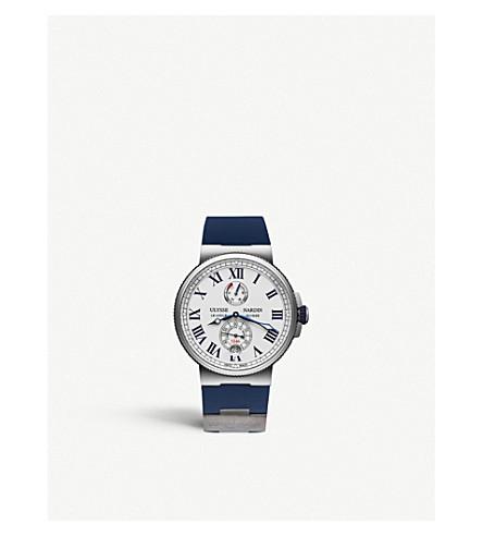 ULYSSE NARDIN 1183-122/40 Marine Chronometer stainless steel watch
