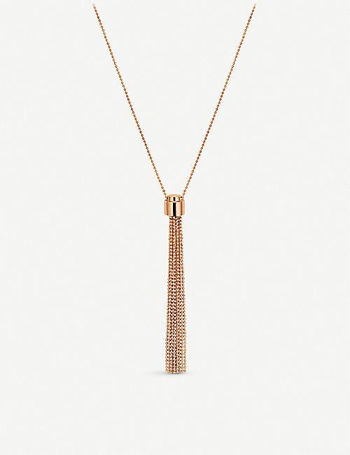 CARL F BUCHERER Bubbles 18ct rose-gold necklace