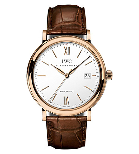 IWC IW356504 Portofino Automatic rose gold watch