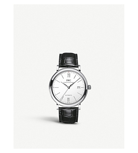 IWC SCHAFFHAUSEN IW356501 portofino stainless steel watch