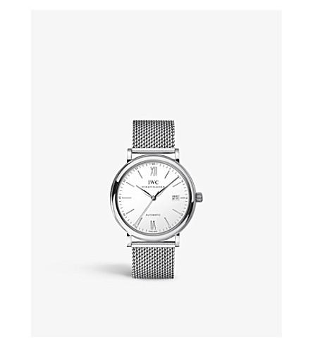 IWC IW356505 portofino stainless steel watch