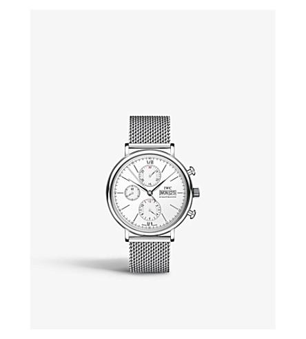 IWC IW391009 portofino milanese mesh watch
