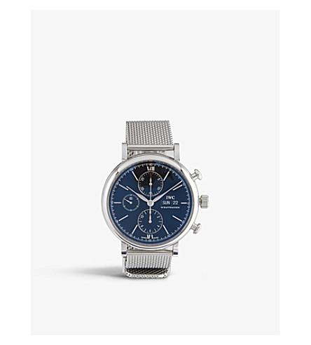 IWC SCHAFFHAUSEN IW391010 portofino milanese mesh watch
