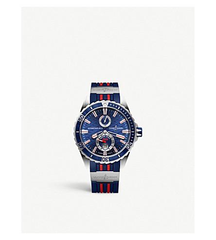 ULYSSE NARDIN 263-10-3r/93 Maxi Marine Chronometer stainless steel watch