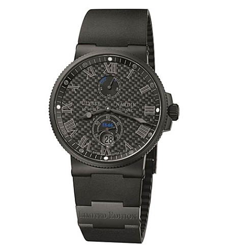 ULYSSE NARDIN 263-66LE-3c/42-BLACK Maxi Marine Chronometer watch
