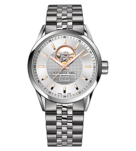 RAYMOND WEIL 2710-st5-65021 Freelancer stainless steel watch