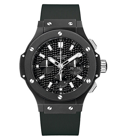 HUBLOT 361SE2010RW1104 Big bang black magic ceramic and carbon fibre watch