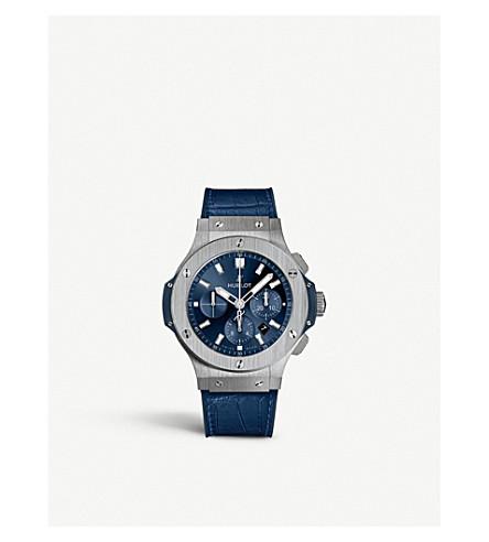 HUBLOT 541.NX.7170.LR Classic Fusion Automatic Titanium Blue Dial Unisex Watch