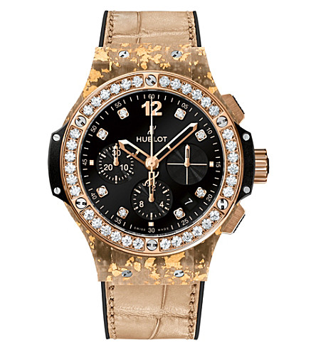 HUBLOT 341.XN.1280.R.1204 Big Bang Pop Art 18ct king gold and diamond watch