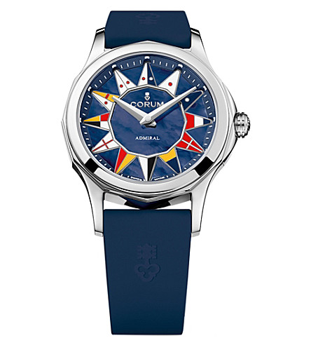 CORUM 400.100.20/0373AB12 Admirals Legend 32 stainless steel automatic watch