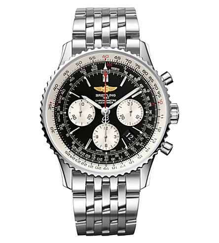 BREITLING AB012012|BB01|447A Navitimer 01 stainless steel watch