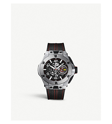 HUBLOT 402.NX.0123.WR Big Bang Ferrari titanium watch